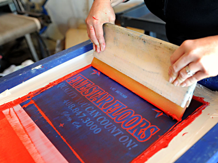 Screen Printing Services Page